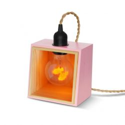 Support de Lampe Private Corner | Rose