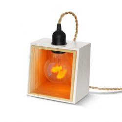 Support de Lampe Private Corner | Blanc