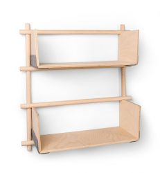 Rack Foldin 1x3 +2 Shelves