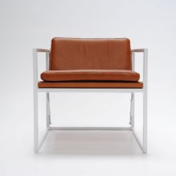 MLS 919 Club Chair | Natural Leather