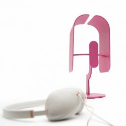 Loop Headphone Stand | Pink