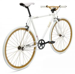 Chill Bikes | Base White - Bronce