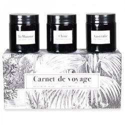 Scented Candles Carnet de Voyage | Set of 3