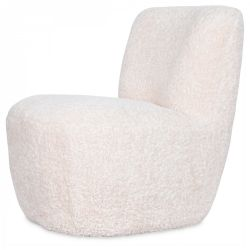 Chair Eve  Faux Fur | Natural