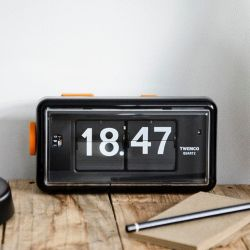 Flip Clock AL30 | Black