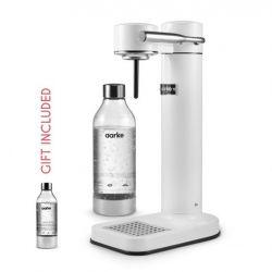 Sparkling Water Maker + Gift: 1 Aarke Bottle | White