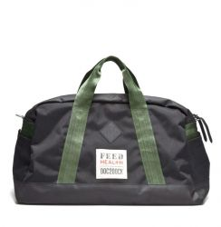 Feed Health Duffle Black