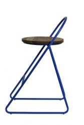 Duke Bar Stool | Blue