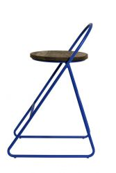 Duke Bar Stool 89 H | Blue