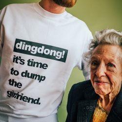 T-shirt | Männer | Es ist Zeit, der Freundin den Laufpass zu geben