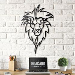 Wall Deco Lion Head