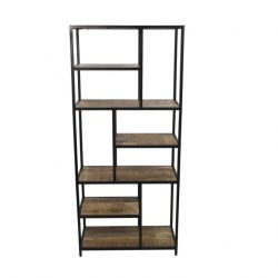 Open Shelf 80 x 38 x 180 cm | Mango Wood
