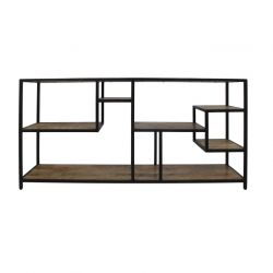 Open Shelf 160 x 38 x 80 cm | Mango Wood