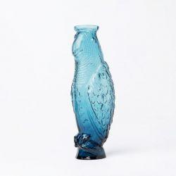 Glaskaraffe Kakadu | Blau