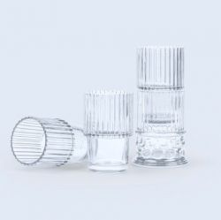 Verres Hestia Set de 4 | Transparent