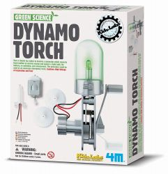 DIY Kit Dynamo Torch