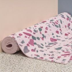 Terrazo Yoga Mat | Rose