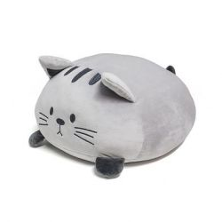 Coussin Kitty | Gris Polyester