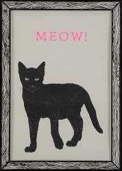 Tirage d'Art Meow