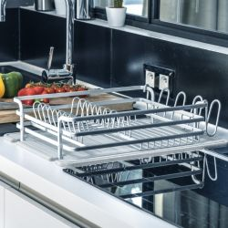 Dish Rack Diatomite | Light Grey