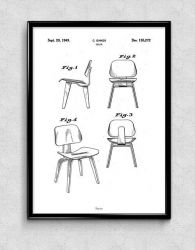 Drucken | Eames Chair