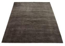 Teppich Earth | Kohle