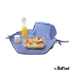 Wiederverwendbare Lunch-Tasche Eat'n'Out Mini Eco | Blau