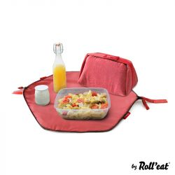 Wiederverwendbare Lunch-Tasche Eat'n'Out Mini Eco | Rot