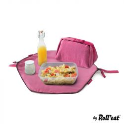 Wiederverwendbare Lunch-Tasche Eat'n'Out Mini Eco | Violett