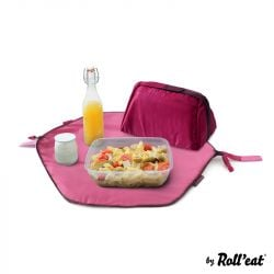 Sac à Lunch Réutilisable Eat'n'Out Mini Square | Rose