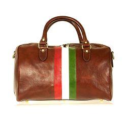 Reisetasche Mameli | Braunes Italien