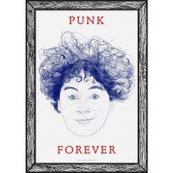 Art Print Punk Forever