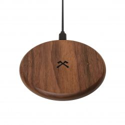 Wireless Charger EcoPad | Dark Wood