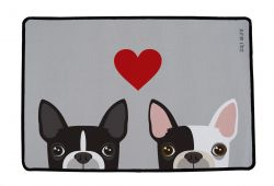 Multifunctional Rug Which Frenchie in Love