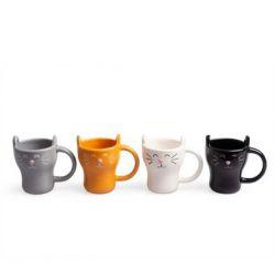 Kaffeetasse Satz von 4 | Meow