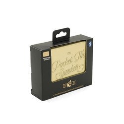 Pocket Tin Lautsprecher Bluetooth Edition   Gold