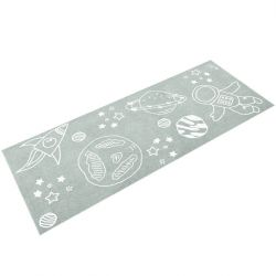 Child-Friendly Rug Eden Touch | 170 x 67 cm | Light Blue