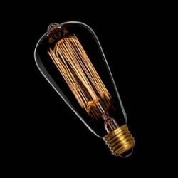 Bulb E27 60W Squirrel Cage