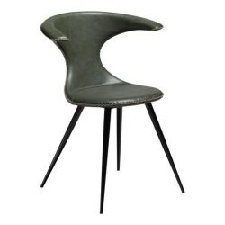 Chair Flair Artificial Leather | Vintage Green