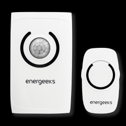 Wireless doorbell alarm with motion detector