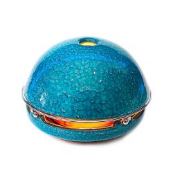 Kaarsverwarming Egloo | Textured Turquoise