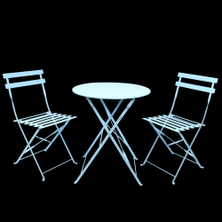 Outdoor Bistro Set | Blue