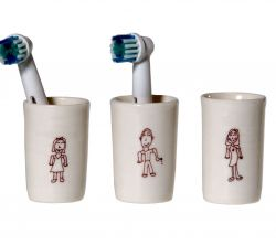Electric Tootbrush Vases Ulrike Family Kids