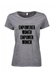 T-shirt Empowered | Grey
