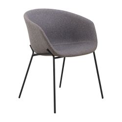 Chaise Vic | Gris Clair