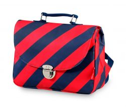 School Bag Small | Stripe Navy