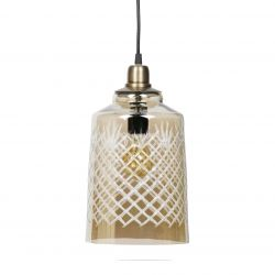 Hanging Lamp Engrave Large | Brass DISCONTINUED
