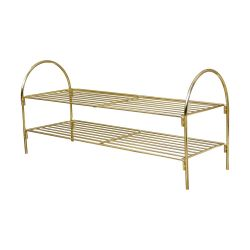 Shoe Rack | Gold