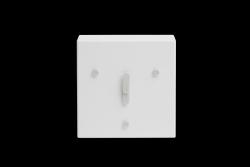 Tischuhr Face 2-6-10 | Weiß