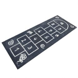 Child-Friendly Rug Eric Touch | 170 x 67 cm | Grey